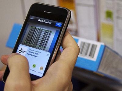 Quét mã số mã vạch bằng điện thoại thông minh