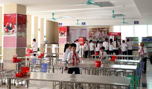 An toàn thực phẩm trong trường học