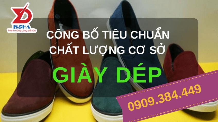 cong bo chat luong giay dep