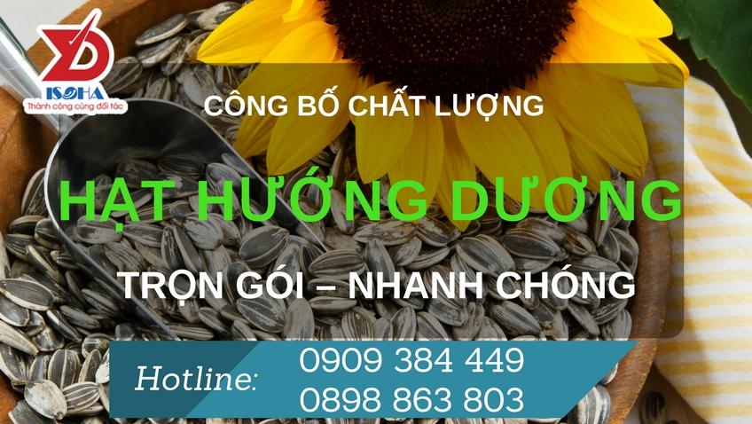 cong bo chat luong hat huong duong
